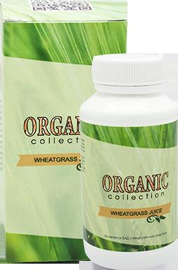 упаковка Detox Wheatgrass
