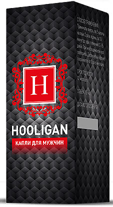капли  Hooligan для потенции