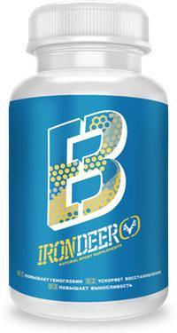 капсулы Irondeer B для повышения гемоглобина