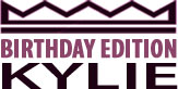 kylie-birthday-edition-logo