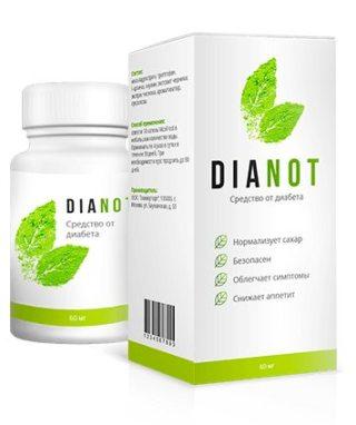 капли Dianot от диабета