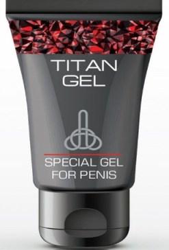 крем Titan Gel для увеличения пениса