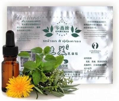 Huaxin Breast Plaster от мастопатии