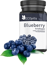 таблетки EcoPills Blueberry для глаз