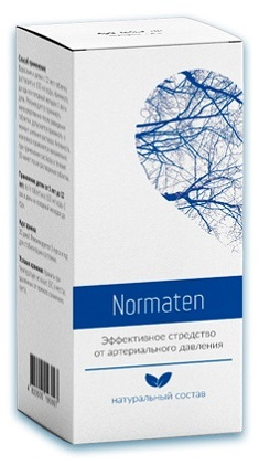 таблетки Normaten от гипертонии