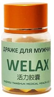 Драже Welax для эрекции