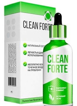 капли Clean Forte от гастрита
