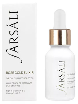 Farsali Rose Gold Elixir от мимических морщин