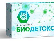 Пакетики Биодетокс от грибка