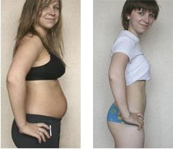 До и после DietoFit Plus