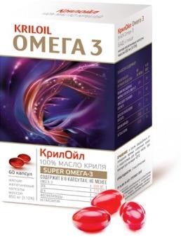 КрилОйл Омега-3 от гипертонии