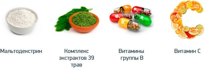 компоненты лекарства