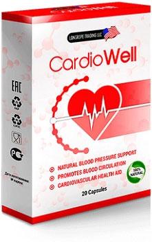 капсулы CardioWell от давления