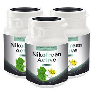 Nikofreen Active от никотиновой зависимости