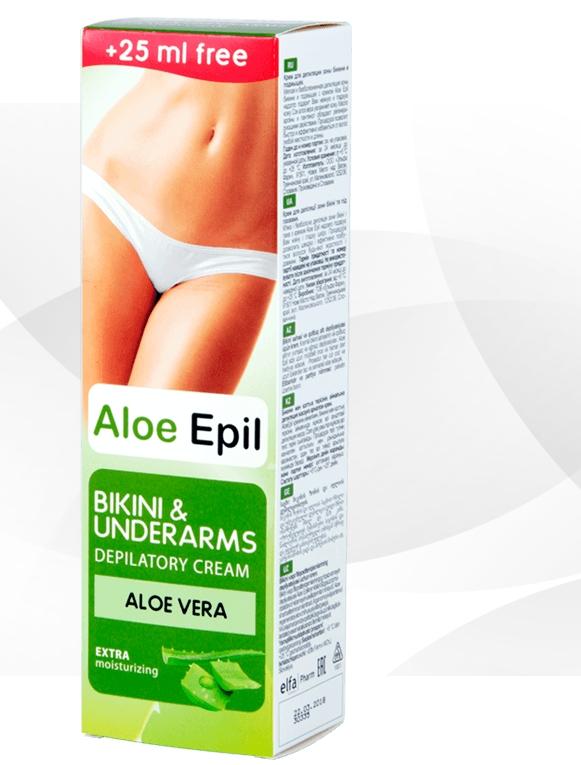 Aloe Epil крем для эпиляции