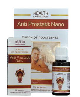 Anti Prostatit Nano от простатита