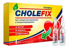 Холефикс для снижения холестерина