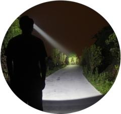 сверхмощный налобный фонарь