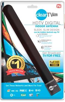HQClear TV компактная ТВ антенна