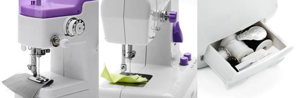 полноценный функционал швейной машинки