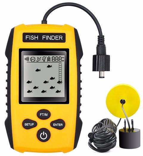 Fish Finder портативный эхолот для рыбалки