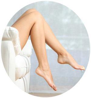 Ноги после депиляции