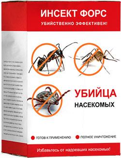 Инсект Форс от насекомых