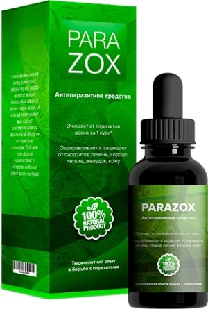 Капли Parazox против гельминтов