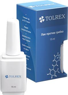 Tolrex от грибка ногтей