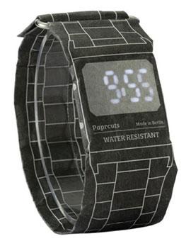 Paprcuts Watch – наручные часы из непромокаемой бумаги