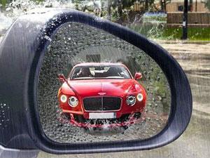 Зеркало с наклейкой
