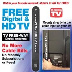 TV Free Way — недорогая комнатная антенна