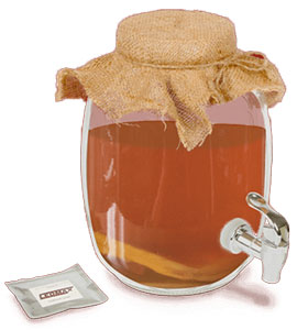 Чайный гриб Leomax для нормализации давления