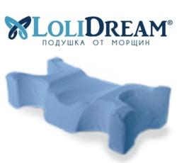 LoliDream — ортопедическая подушка, избавляющая от морщин во время сна