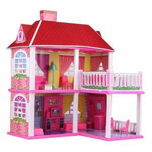 Раскрашенный домик
