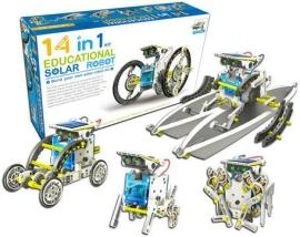 Solar 14 в 1 – детский робот-конструктор на солнечных батарейках