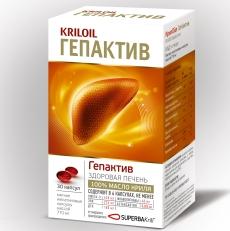 KrilOil Гепактив для здоровья печени