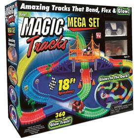 Magic Track – игрушечная гоночная трасса, которая светится в темноте