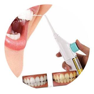 Зубы очищены