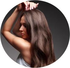 густые волосы у женщин