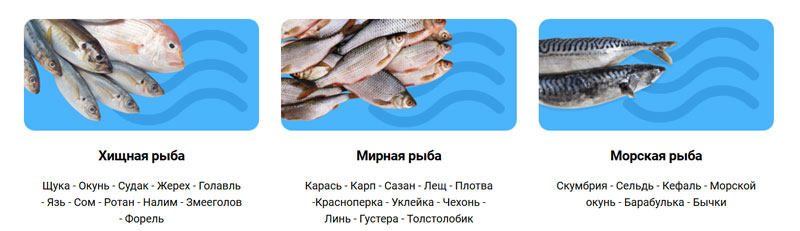 На какую рыбу действует