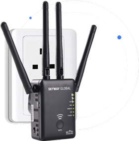 Skyway Global для спутникового интернета
