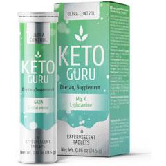 Keto Guru — шипучие таблетки для похудения на основе 9 активных компонентов